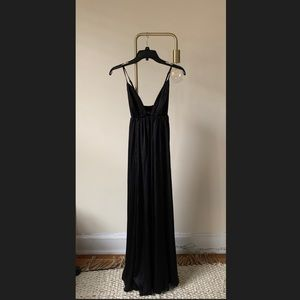 Free People V-neckline Maxi Dress